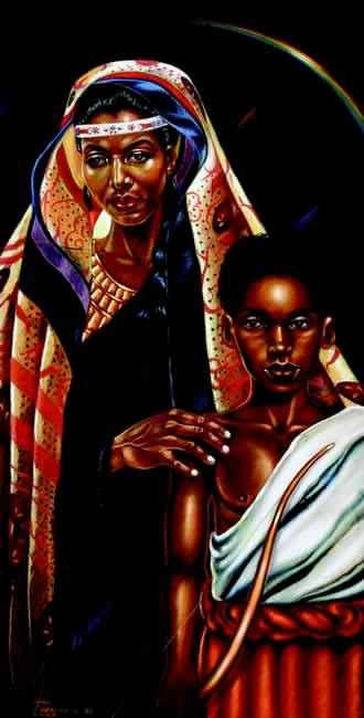 I am the African Mother of the First Arab