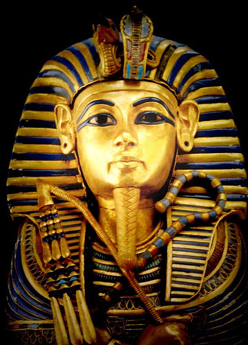 King Tut the Living Image of Amun of the Land of Ham